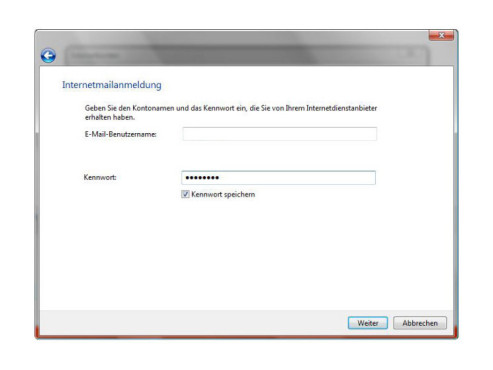 Windows Mail: Konto einrichten
