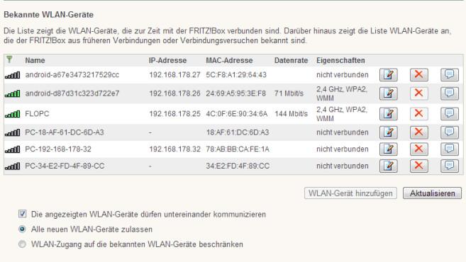 WLAN-Tipp: MAC-Adresse aktivieren©COMPUTER BILD