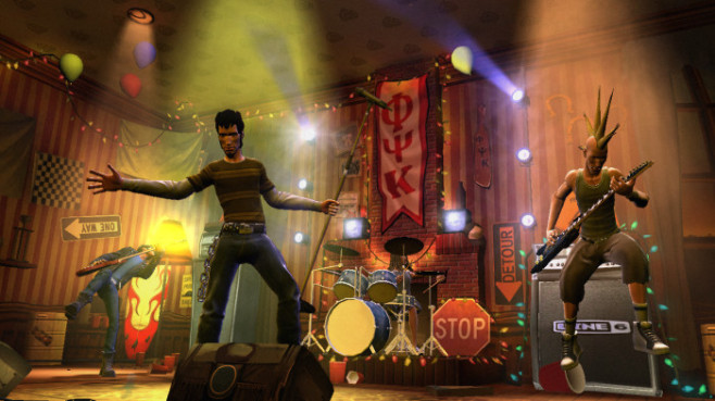 Musikspiel Guitar Hero – World Tour