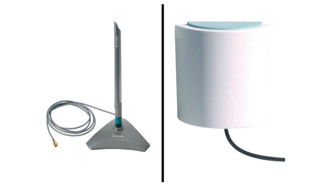 Wie kann ich eine Outdoor-Antenne anschließen