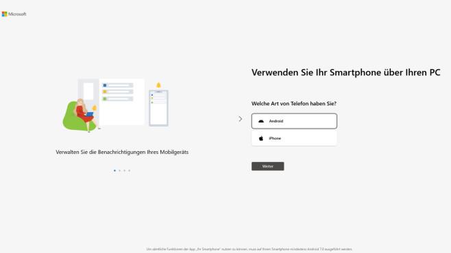 Ihr Smartphone (Windows-10-App, Büro) ©COMPUTER BILD