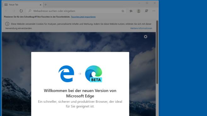 Microsoft Edge (Chromium-Basis, Top-Programme) ©COMPUTER BILD