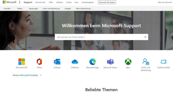 Microsoft Fix-it-Supportcenter (Tuning) ©COMPUTER BILD