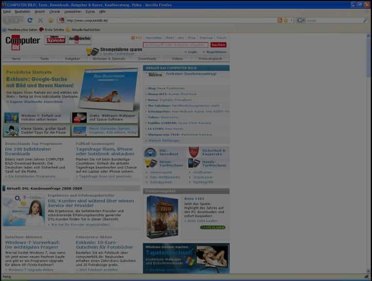 Screenshot 1 - DimScreen