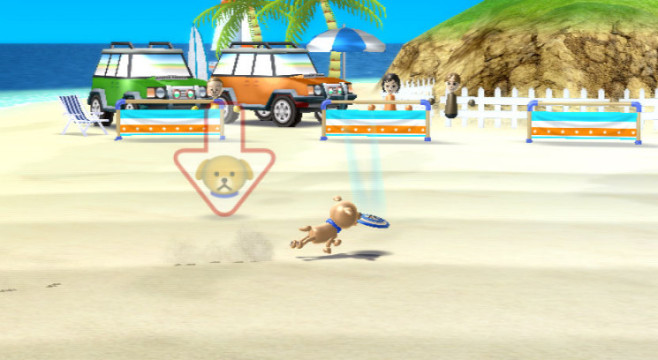 Sportspiel Wii Sports Resort: Fang © Nintendo
