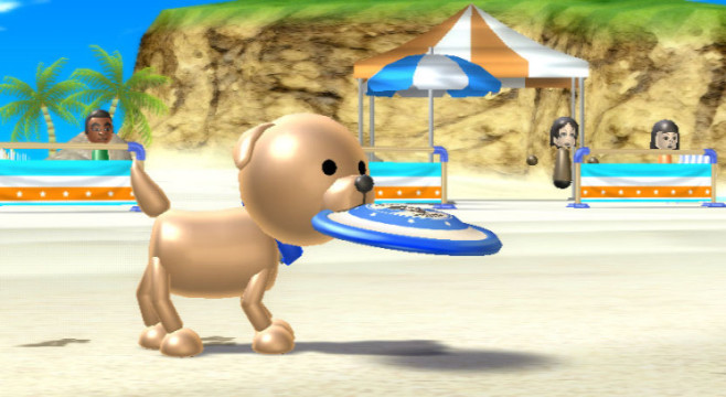 Sportspiel Wii Sports Resort: Hund © Nintendo