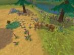 Das Sims-Konzept erobert den Wald Helfen Sie den Tieren bei der Familiengründung.