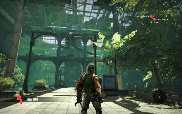 Actionspiel Bionic Commando: Halle