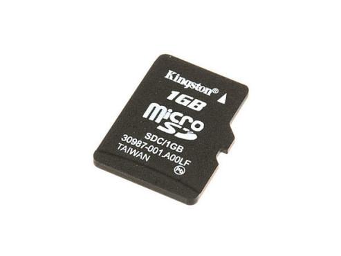 Kingston microSD 1GB: Speicherkarte ©Kingston