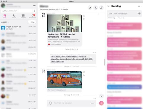 Screenshot 1 - Skype (Mac)