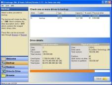DriveImage XML - Gratis-Datensicherungs-Software
