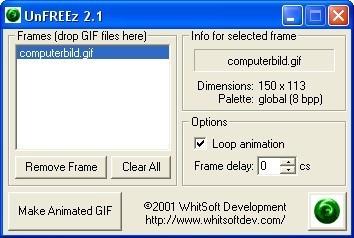 Screenshot 1 - UnFreez