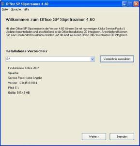 Office SP Slipstreamer
