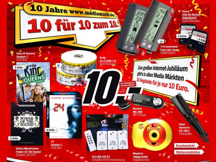 Mediamarkt Sd Karte.Media Markt Geburtstag Schnappchen Computer Bild