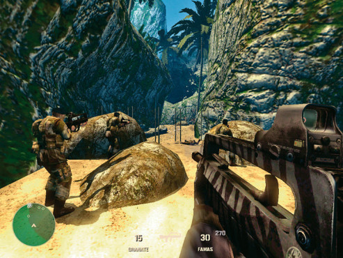 Actionspiel- Code of Honor 2 - Conspiracy Island: Strand