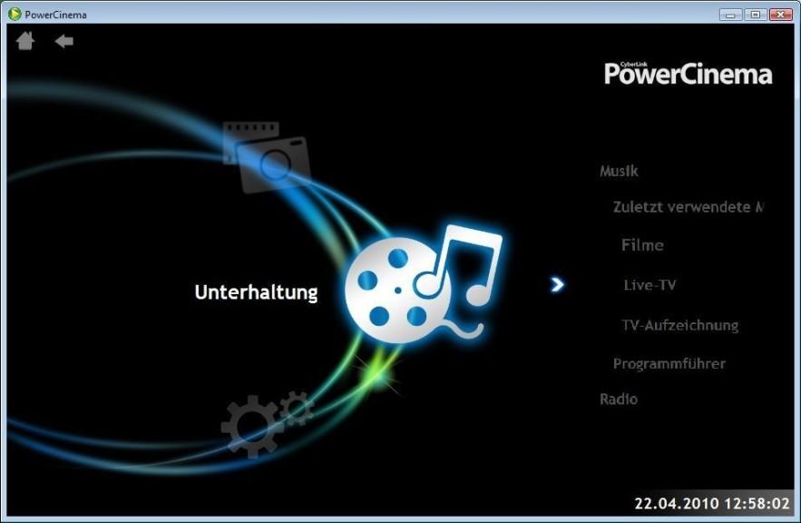 Screenshot 1 - PowerCinema