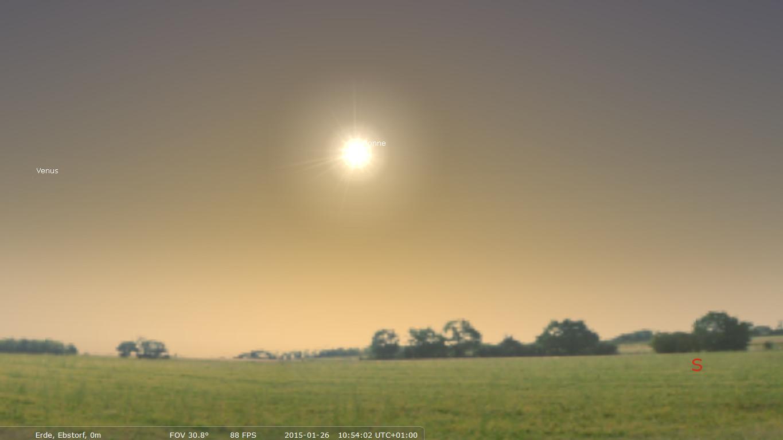 Screenshot 1 - Stellarium Portable