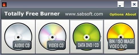 Screenshot 1 - Totally Free Burner