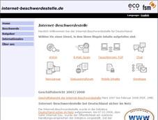 """Die Internet-Beschwerdestelle ist Teil der Initiative """"Deutschland sicher im Netz""""."""