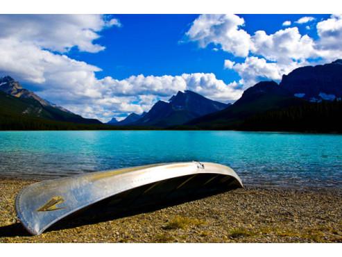 Seelandschaft in Kanada