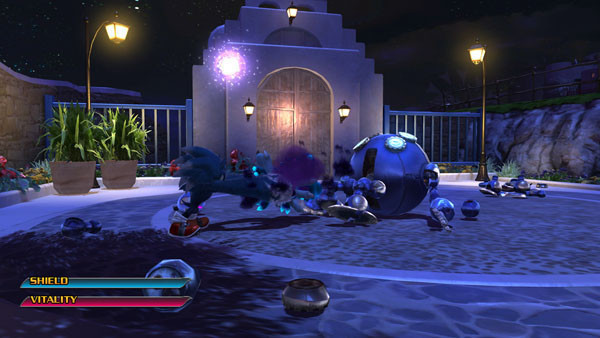 Actionspiel Sonic Unleashed: Kugel