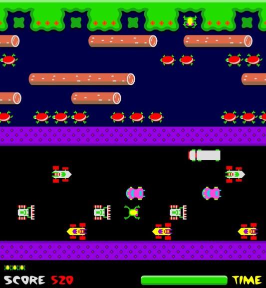 Screenshot 1 - Frogger kostenlos online spielen