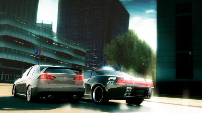 Rennspiel Need for Speed – Undercover: Kurve