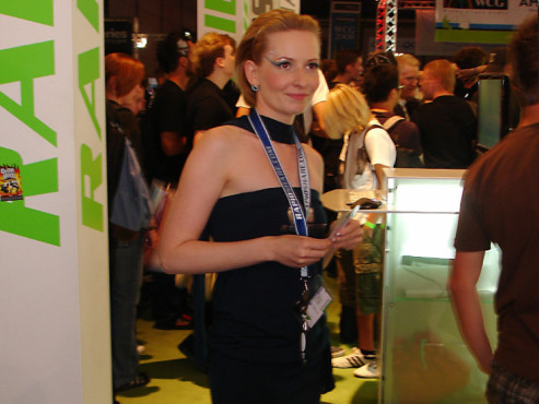 Games Convention 2008: Rapidshare-Girl