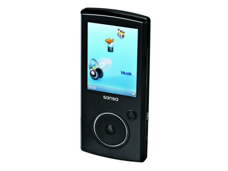 test mp3 player sandisk sansa view 16 gb audio video. Black Bedroom Furniture Sets. Home Design Ideas