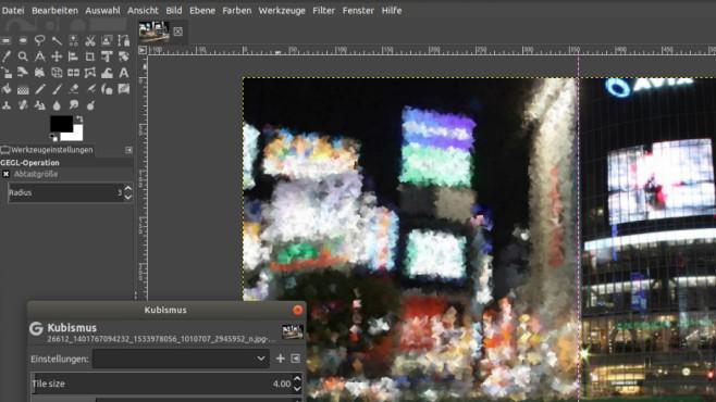 GIMP: Bilder bearbeiten und umwandeln ©COMPUTER BILD
