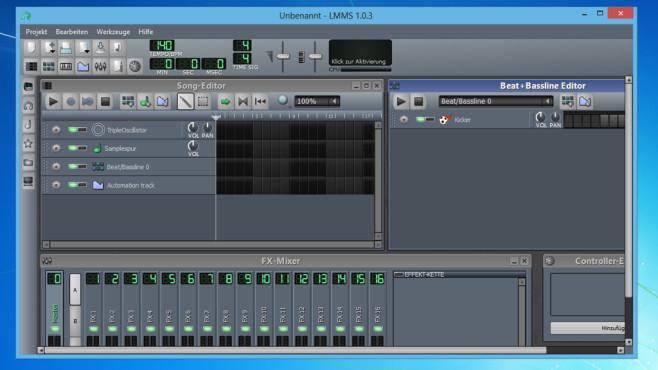 LMMS (Linux MultiMedia Studio): ©COMPUTER BILD