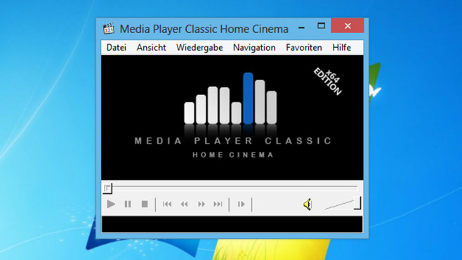 Media Player Classic – Home Cinema: Multimedia-Dateien abspielen © COMPUTER BILD