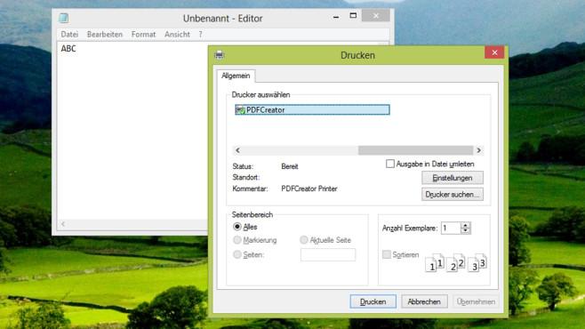 PDFCreator: Eigene PDF-Dateien erzeugen ©COMPUTER BILD