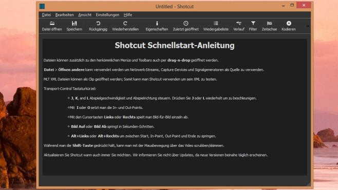 Shotcut: Videos einfach bearbeiten ©COMPUTER BILD
