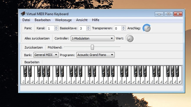 Virtual MIDI Piano Keyboard: Musizieren © COMPUTER BILD