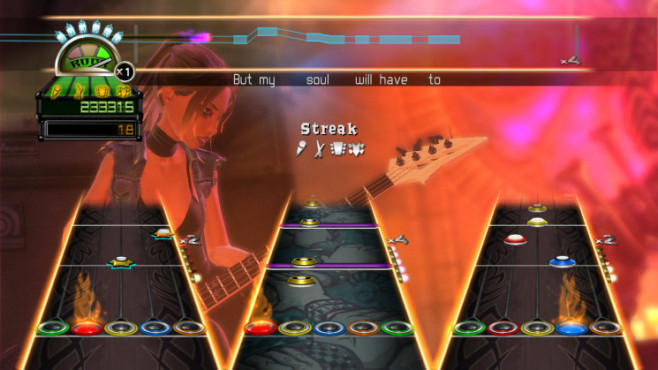 Musikspiel Guitar Hero World Tour: Gameplay