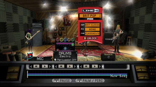 Musikspiel Guitar Hero World Tour: Line 6 POD