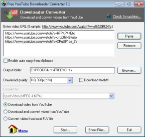 Free YouTube Downloader Converter