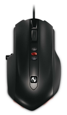 Maus Microsoft Sidewinder X6 Mouse: Oberseite