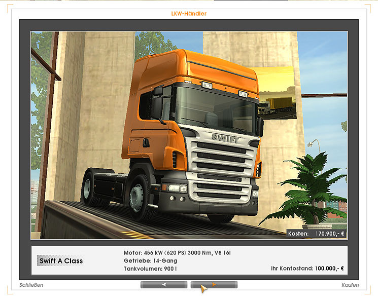 euro truck simulator tipps tricks zur ersten mission. Black Bedroom Furniture Sets. Home Design Ideas