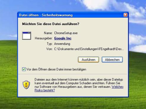 Datei ausführen