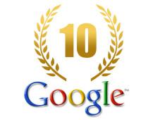 10 Jahre Google©Thomas Graf - Fotolia.com