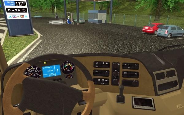 euro truck simulator gratis demo computer bild spiele. Black Bedroom Furniture Sets. Home Design Ideas