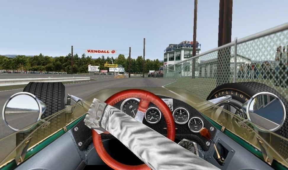 Screenshot 1 - Grand Prix Legends 2004