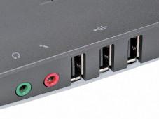 Lenovo 3000 N200 (0769)  Gleich drei USB-Buchsen l erleichtern den Anschluss von externen Geräten.