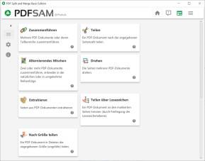 PDFsam (PDF Split and Merge)