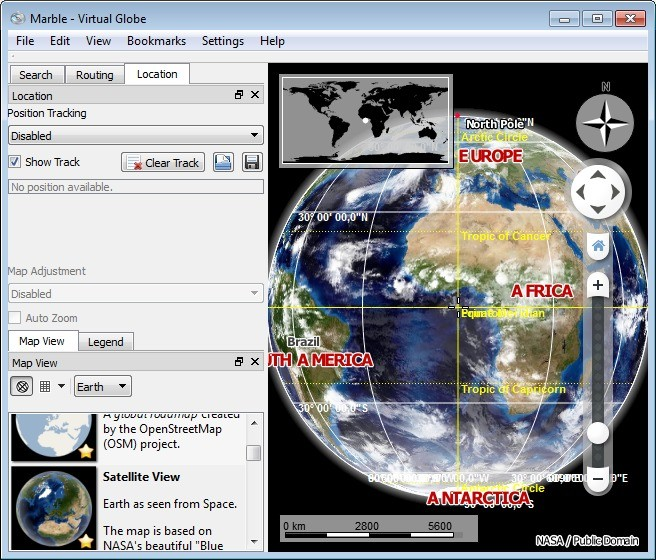 Screenshot 1 - Marble