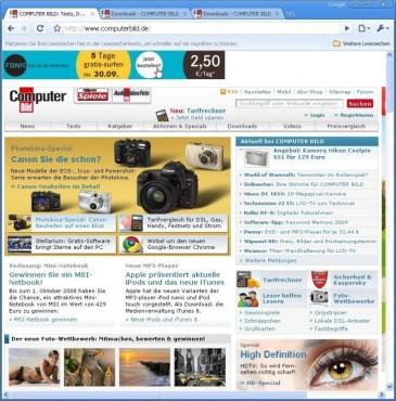 Platz 10: Google Chrome