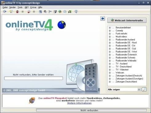 Platz 41: Online TV