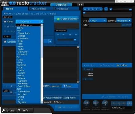Platz 5: Radiotracker Standard – kostenlose Spezial-Version